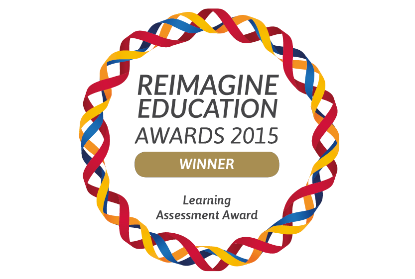 Reimagine Education Award for Best Assessment Innovation